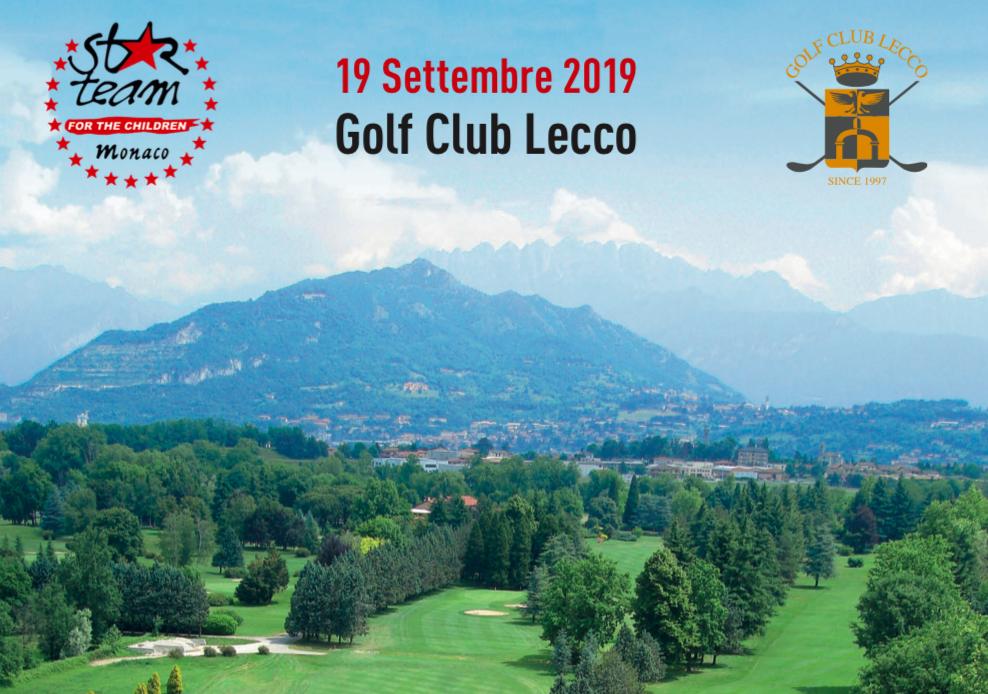 Star team for the Children al Golf Lecco giovedì 19 settembre